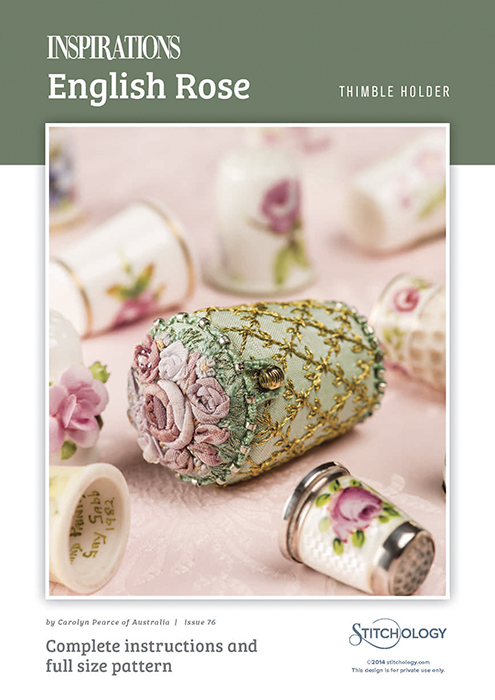 English Rose - Thimble Holder