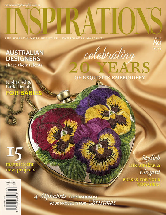 Inspirations Issue 80 - 20 Years of Exquisite Embroidery
