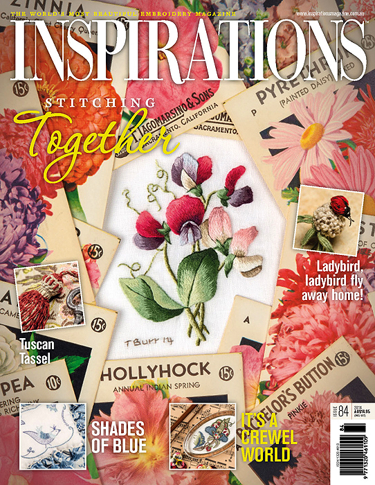 Inspirations Issue 84 - Stitching Together