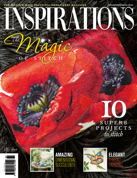 Inspirations Issue 85 - The Magic of Stitch