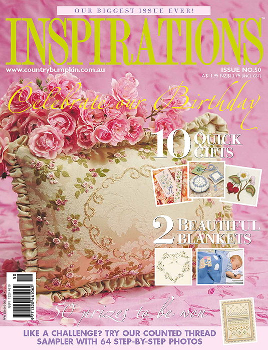 Inspirations Issue 50 - 50th Birthday Issue