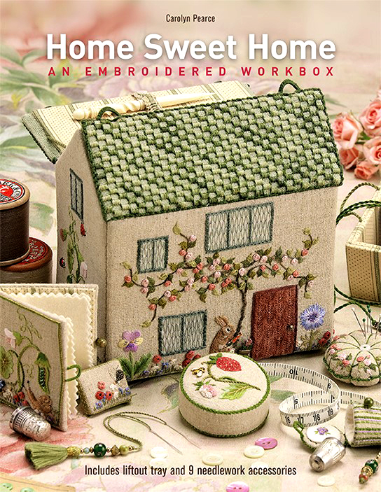 Home Sweet Home - An Embroidered Workbox