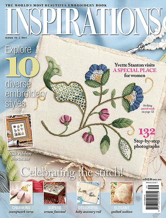 Inspirations Issue 70 - Celebrating The Stitch