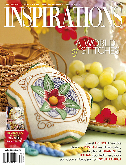 Inspirations Issue 74 - A World of Stitches