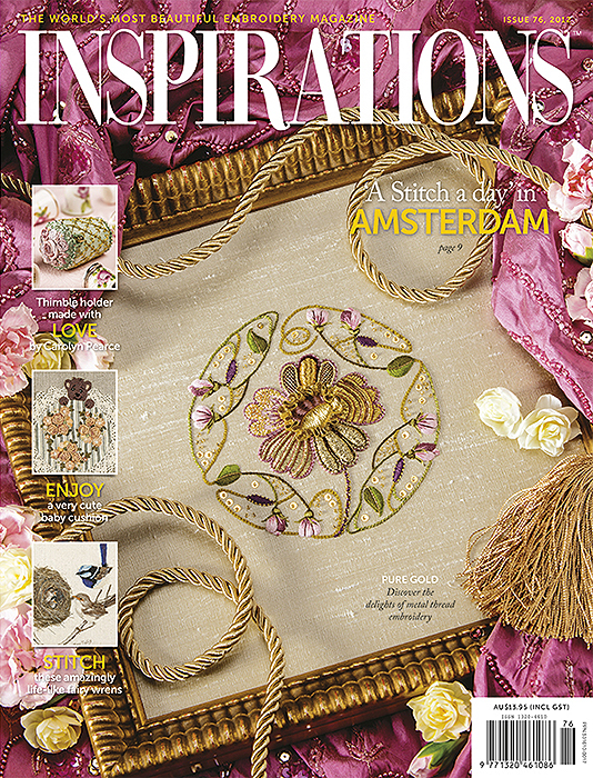Inspirations Issue 76 - Love, Enjoy, Stitch