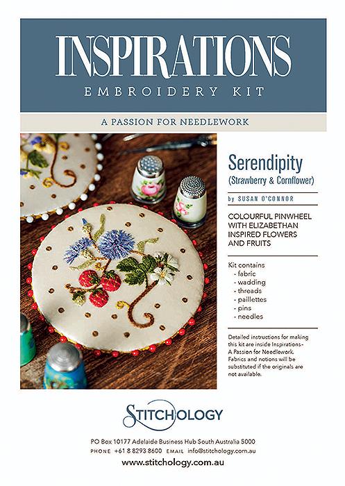 Serendipity - Strawberry and Cornflower - APFN Kit