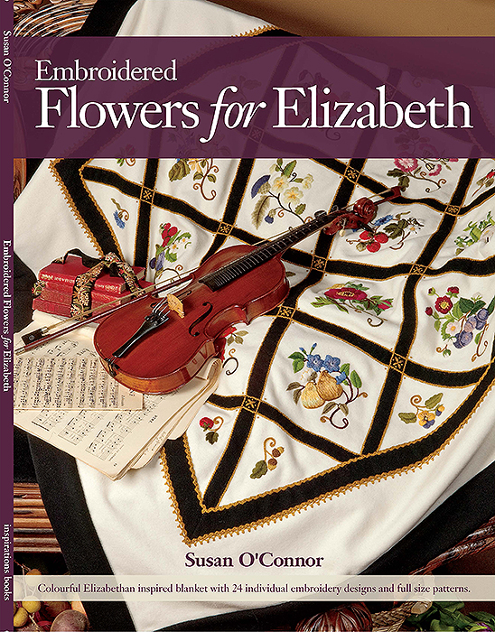 Embroidered Flowers for Elizabeth