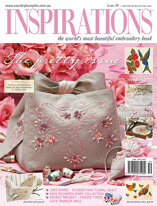 Inspirations Issue 59 - The Pretty Issue