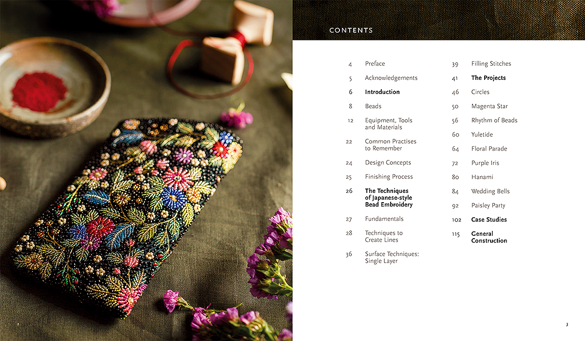 The Art Of Bead Embroidery Japanese Style Inspirations