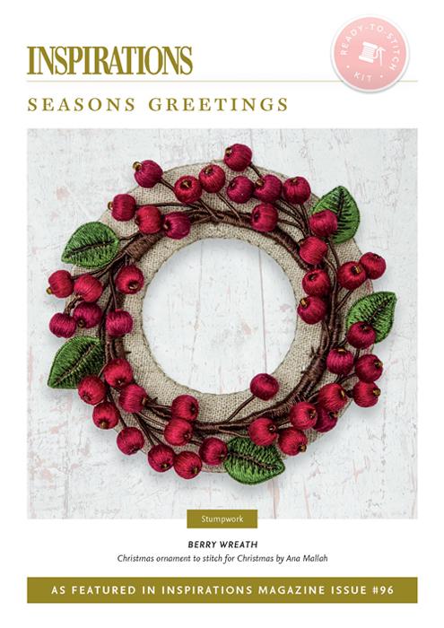 Berry Wreath - Season's Greetings - i96 Kit