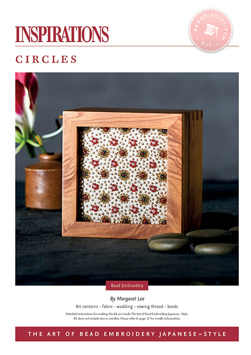Circles - Bead Embroidery Japanese-Style Kit