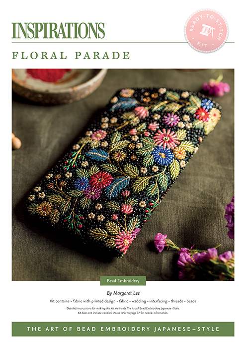 Floral Parade - Bead Embroidery Japanese-Style Kit