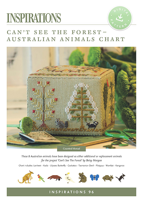 Can't See the Forest - Australian Animals Chart