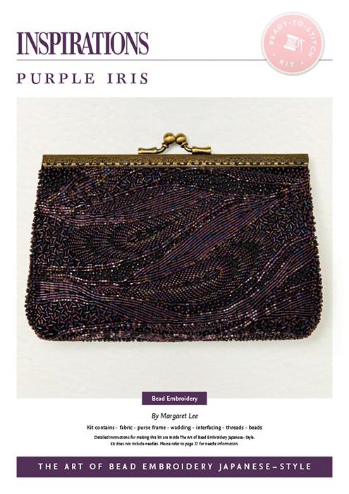 Purple Iris - Bead Embroidery Japanese-Style Kit