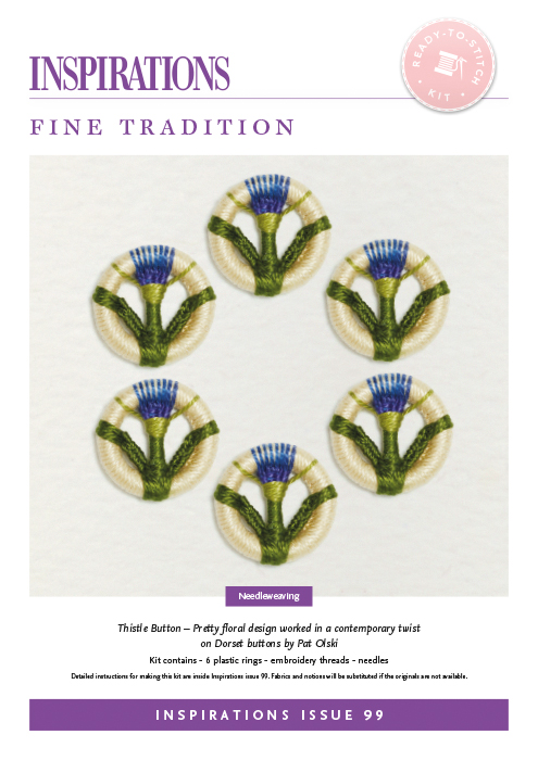 Fine Tradition: Thistle Button - i99 Kit