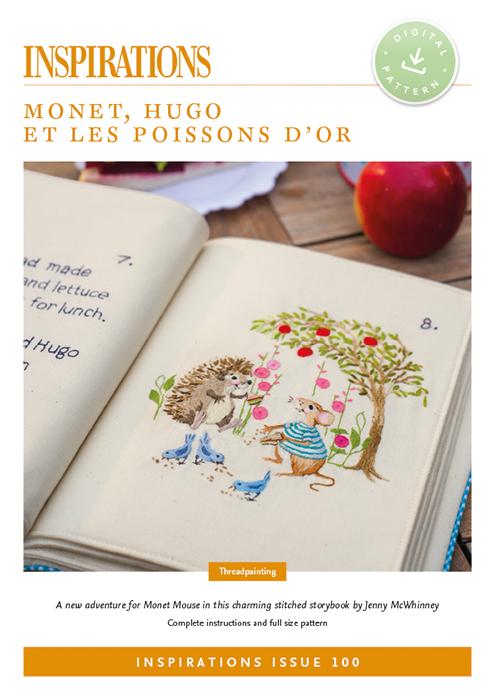 Monet, Hugo et les Poissons d'Or (Monet, Hugo and the Golden Fish)