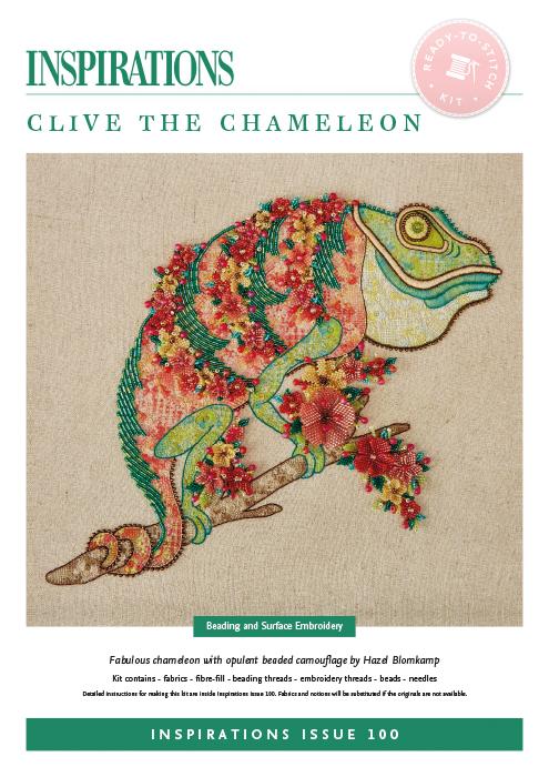 Clive the Chameleon - i100 Kit