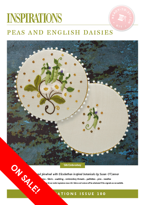 Peas and English Daisies - i100 Kit
