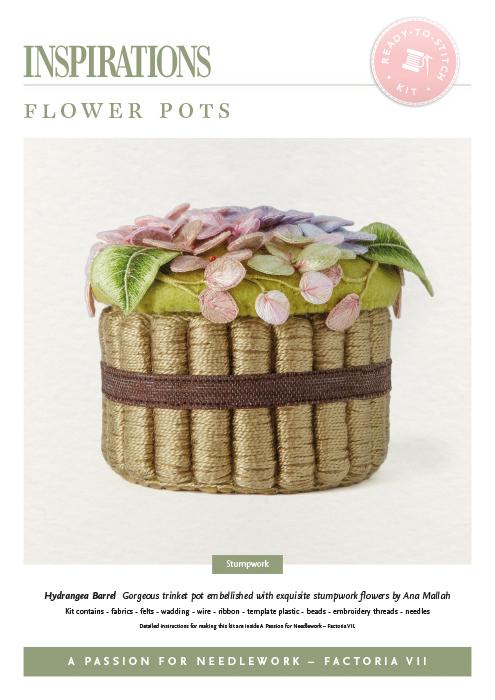 Flower Pots: Hydrangea - APFN2 Kit