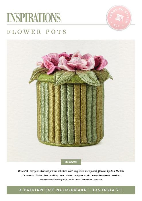 Flower Pots: Rose - APFN2 Kit