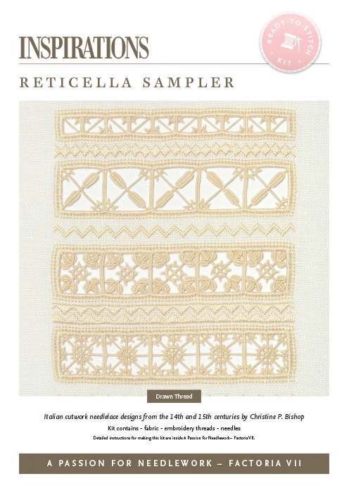 Reticella Sampler - APFN2 Kit