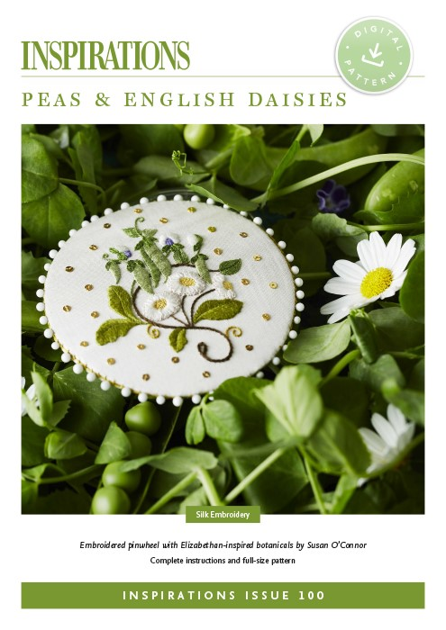Peas and English Daisies