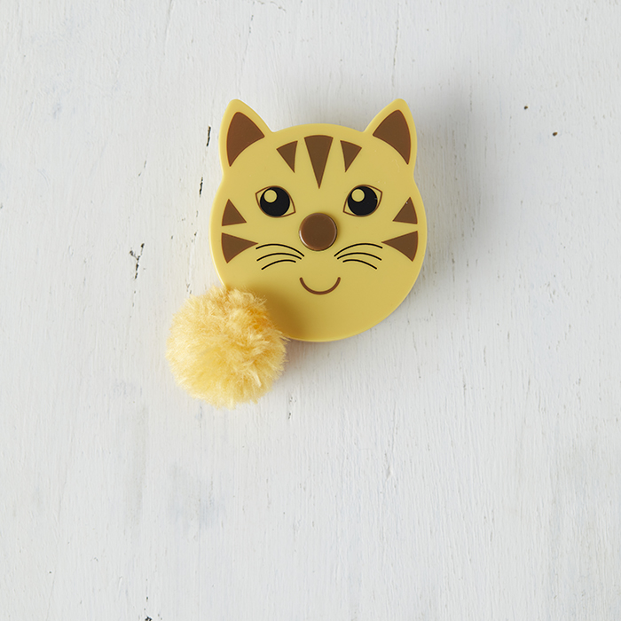 Fluffy Tail Tape Measure - Cat