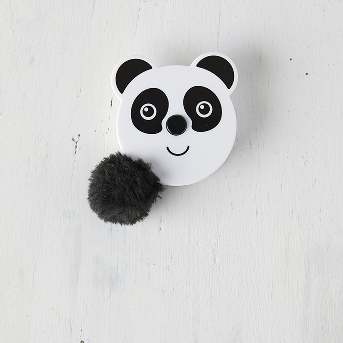 Fluffy Tail Tape Measure - Panda