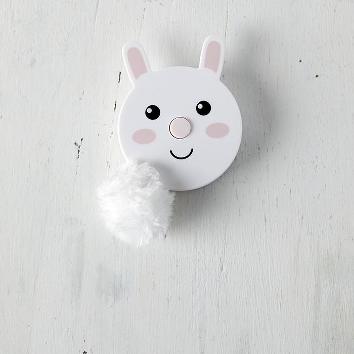 Fluffy Tail Tape Measure - Rabbit