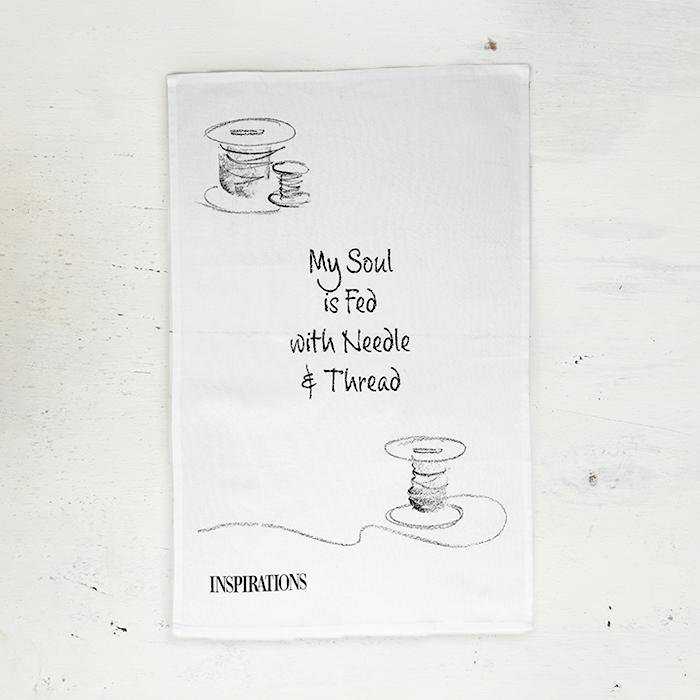 Tea Towel - Quote