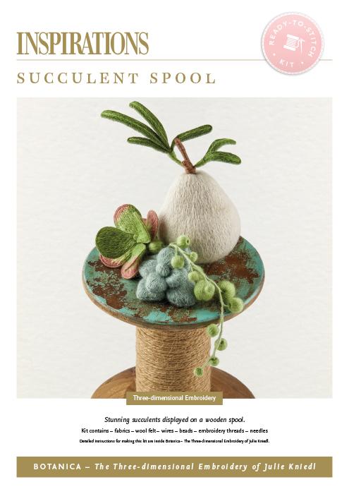Succulent Spool - Botanica Kit