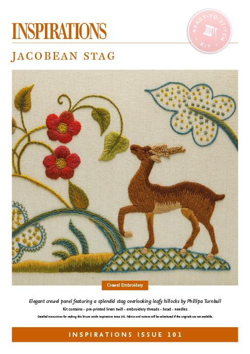 Jacobean Stag - i101 Kit