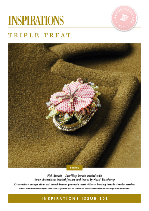 Triple Treat: Pink Brooch - i101 Kit