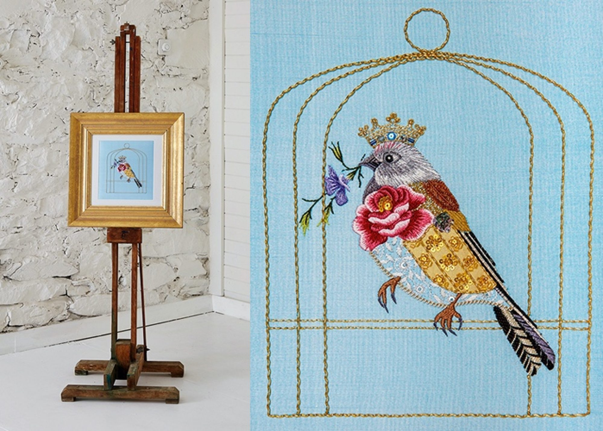 The Linnet by Nicola Jarvis - Inspirations Studios