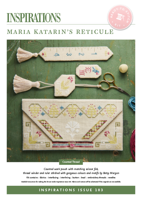 Maria Katarin's Reticule - i103 Kit