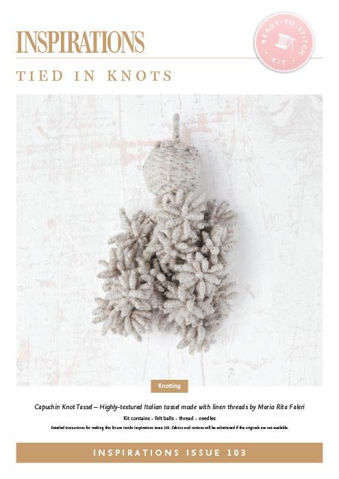Tied in Knots: Capuchin Knot Tassel - i103 Kit