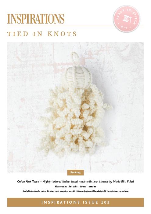Tied in Knots: Onion Knot Tassel - i103 Kit