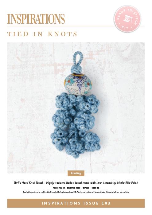 Tied in Knots: Turk's Head Knot Tassel - i103 Kit