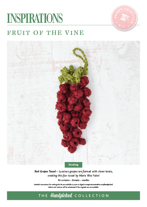 Fruit of the Vine: Red Grapes Tassel - HP Kit