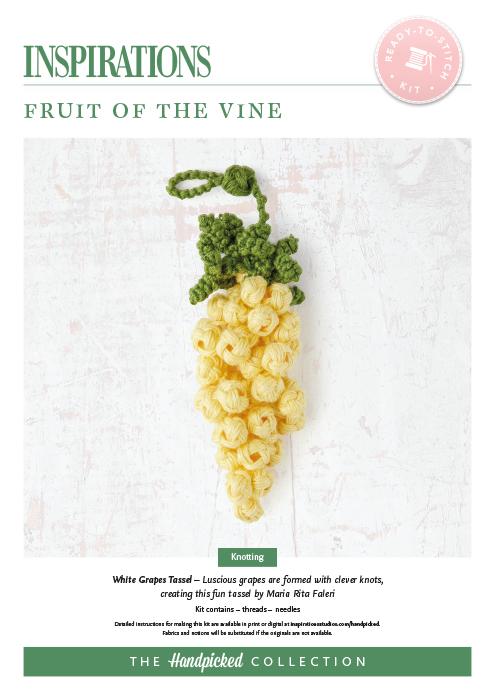 Fruit of the Vine: White Grapes Tassel - HP Kit