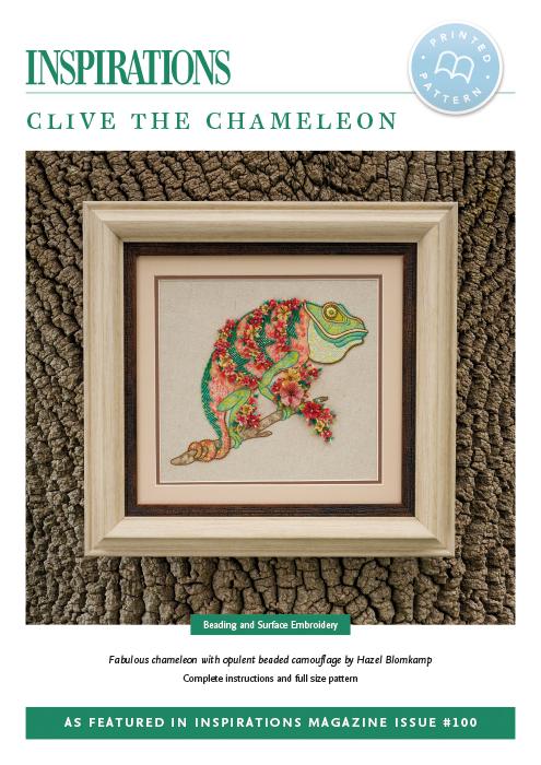 Clive the Chameleon - i100 Print