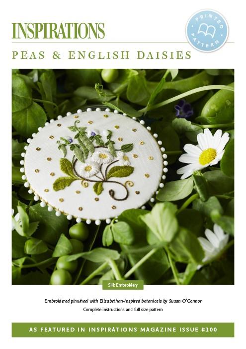 Peas and English Daisies - i100 Print