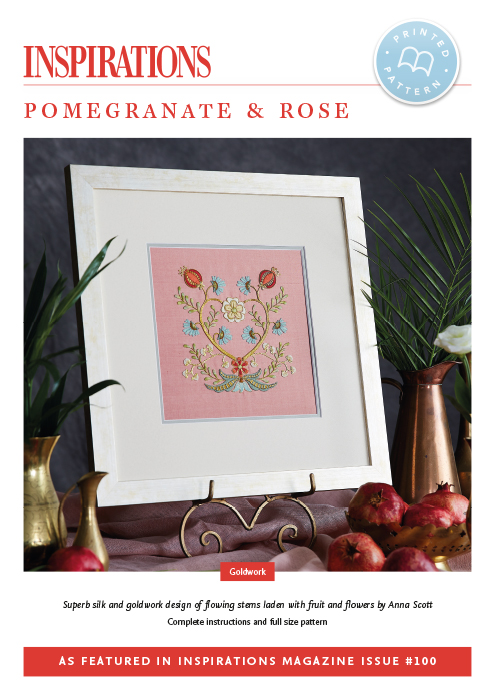 Pomegranate & Rose - i100 Print