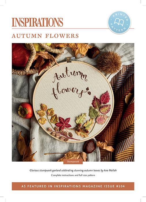 Autumn Flowers - i104 Print