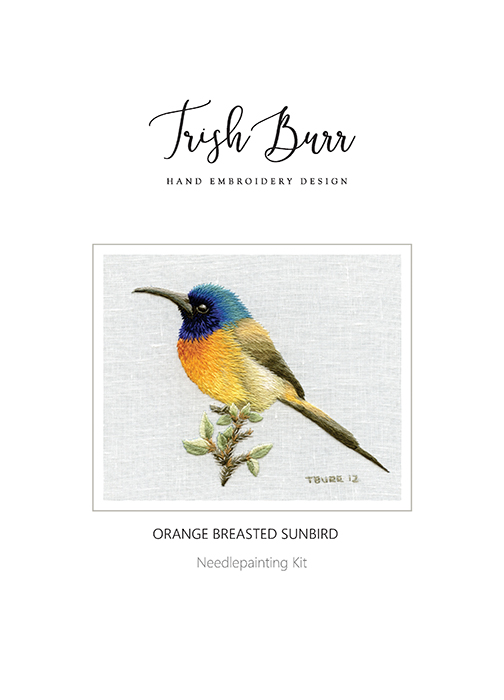 Orange Breasted Sunbird - Trish Burr Kit