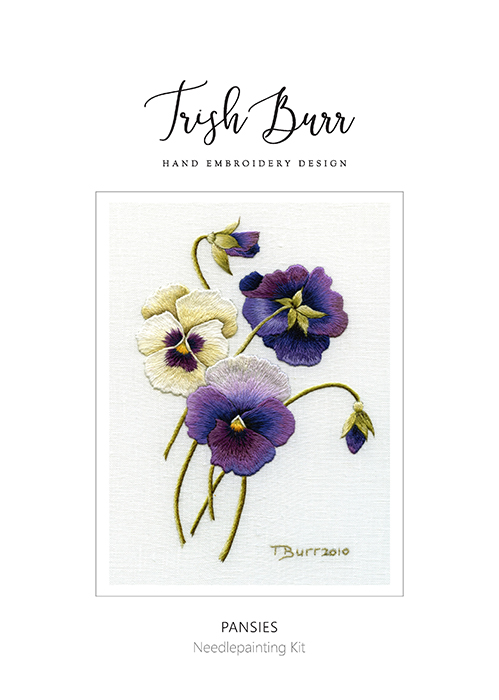 Pansies - Trish Burr Kit