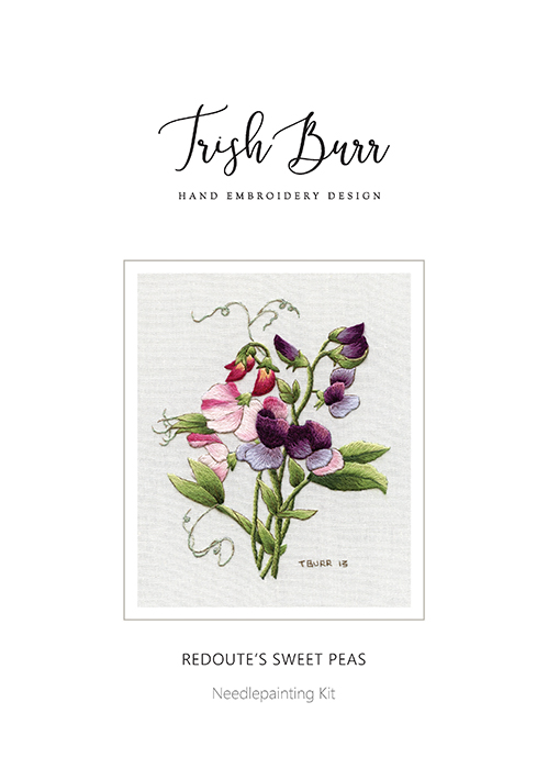 Redouté's Sweet Peas - Trish Burr Kit