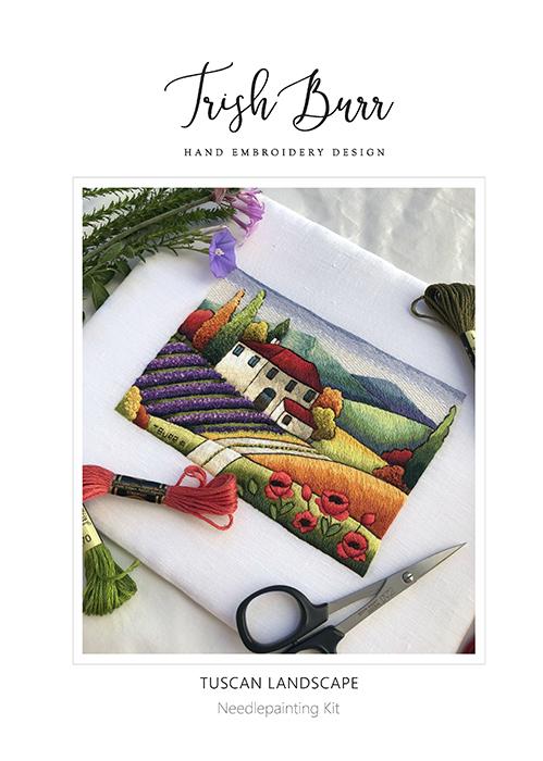 Tuscan Landscape - Trish Burr Kit