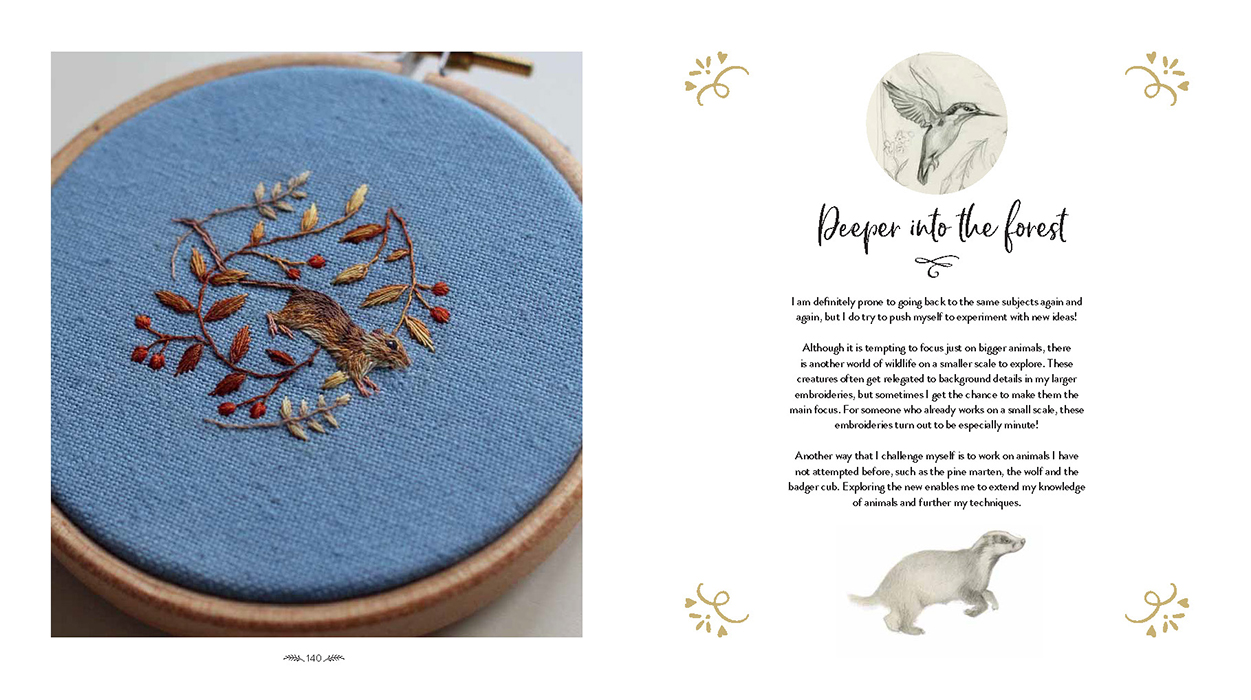 The Embroidered Art of Chloe Giordano - Inspirations Studios