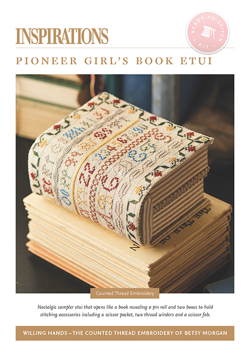 Pioneer Girl's Book Etui - Willing Hands Kit